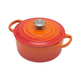Braadpan 18cm Oranje-rood
