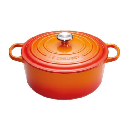 Braadpan 28cm Oranje-rood