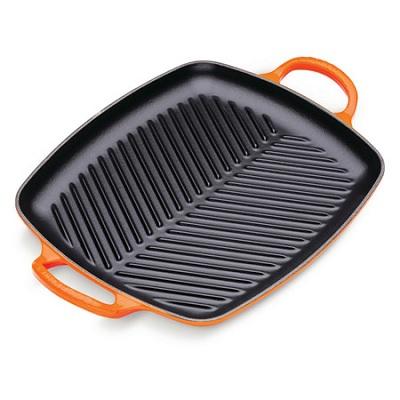 Grill 2 grepen 30cm Oranje