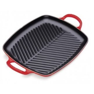 Grill 2 grepen 30cm Rood