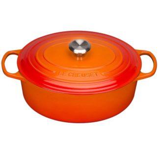 Ovale Braadpan 27cm Oranje-rood