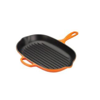 Ovale Grillpan 32cm Oranje
