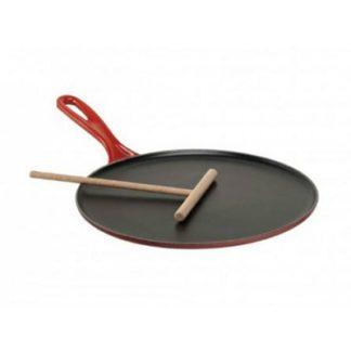 Pannenkoekpan Kersenrood 27cm
