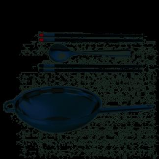 DEMEYERE - Apollo - Wok 32cm 5,50l + gratis chopsticks