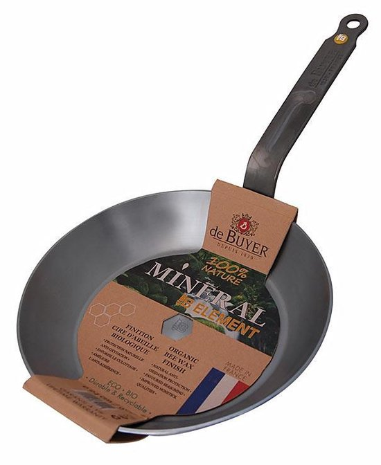 DE BUYER - Mineral B Element en Tole - Koekenpan 26cm