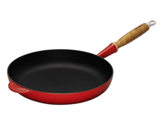 LE CREUSET - Gietijzer - Koekenpan 26cm Kersenrood