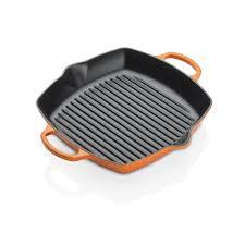 LE CREUSET - Grills - Grill 30cm vierkant Oranje