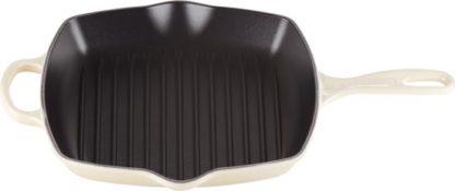 LE CREUSET - Grills - Grillpan 26cm vierkant Meringue