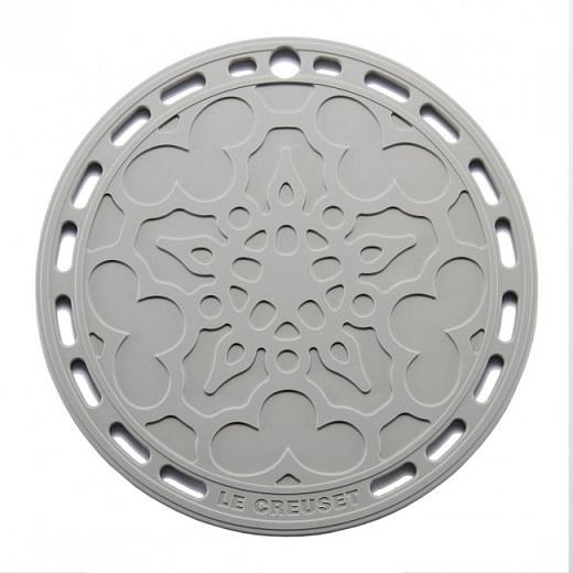 LE CREUSET - Siliconen - Onderzetter 20cm Mist Grey