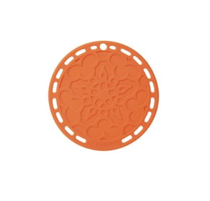 LE CREUSET - Siliconen - Onderzetter 20cm Oranje