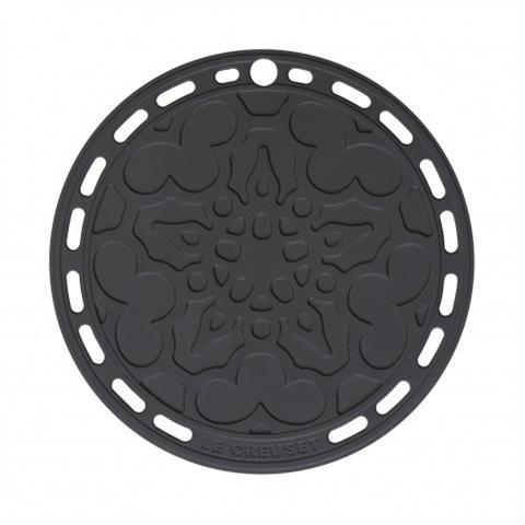 LE CREUSET - Siliconen - Onderzetter 20cm Zwart