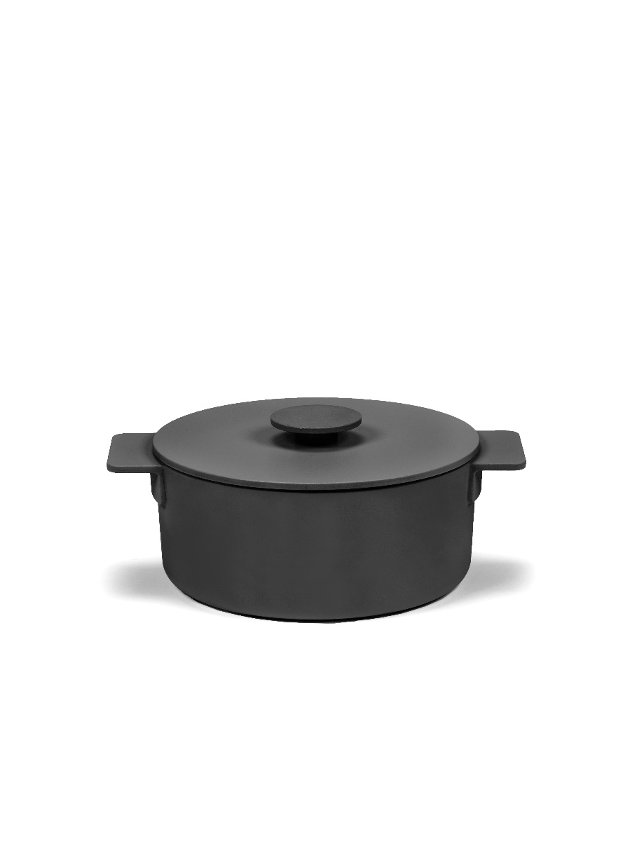 SERAX - Surface - Braadpan Black 23cm h12 3,00l