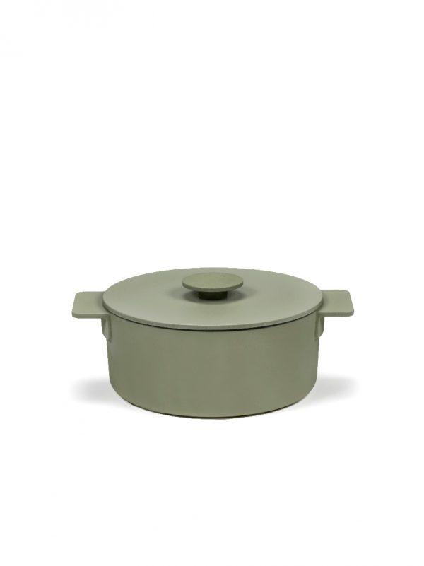 SERAX - Surface - Braadpan groen 23cm h12 3,00l