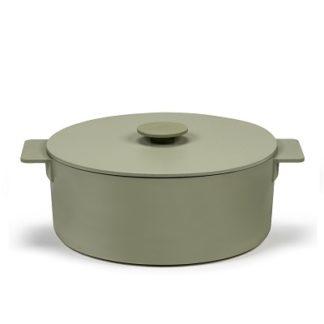 SERAX - Surface - Braadpan groen 29cm h14 5,50l