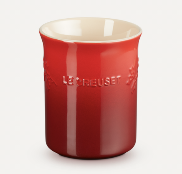 LE CREUSET - Holly Collection - Lepelpot Holly Kersenrood