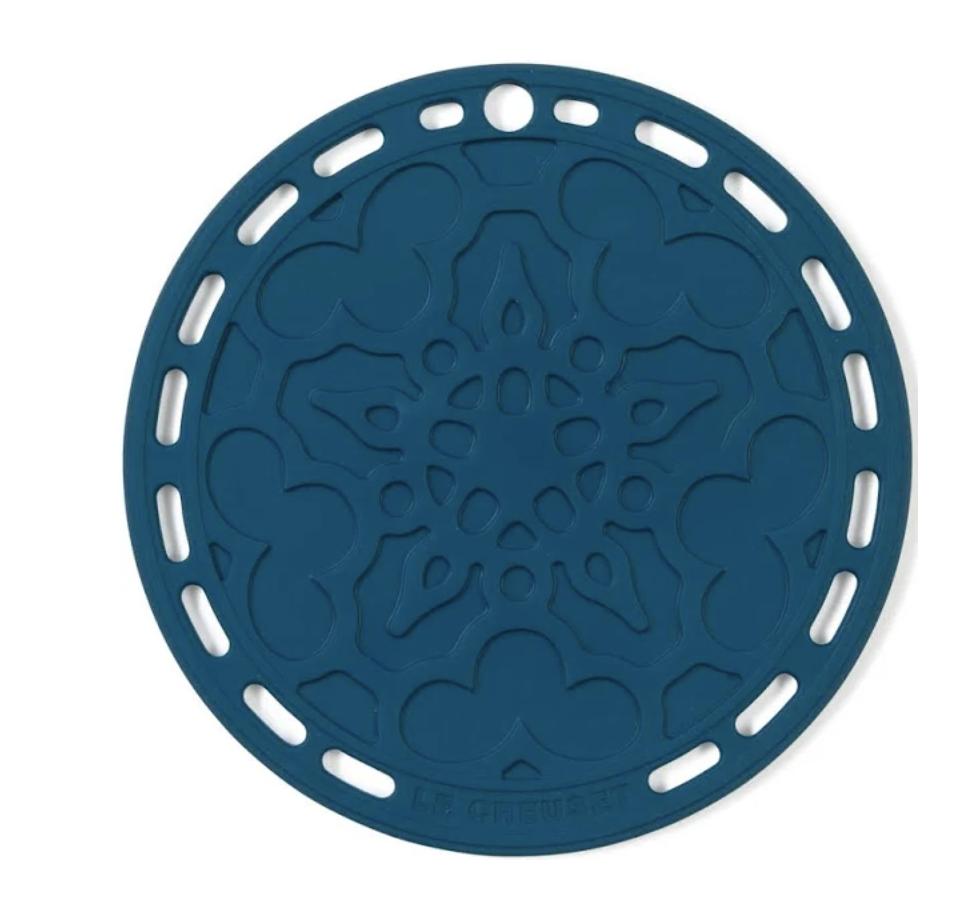 LE CREUSET - Siliconen - Onderzetter Deep Teal 20cm