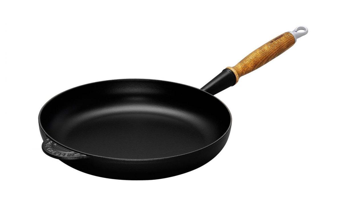 LE CREUSET - Gietijzer - Koekenpan 26cm Mat zwart