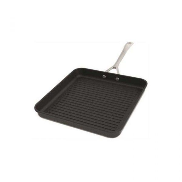 LE CREUSET - Les Forgees - Anti-aanbak grillpan Zwart 23cm