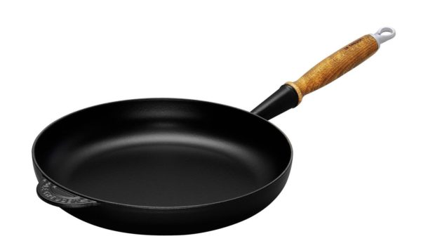 LE CREUSET - Gietijzer - Koekenpan 28cm Mat zwart
