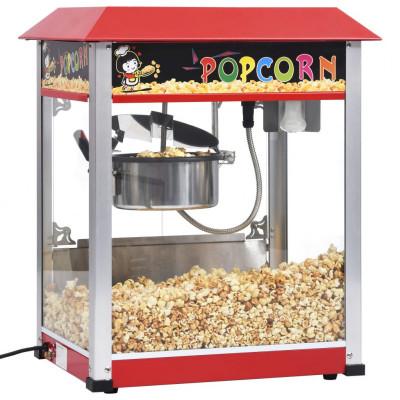 vidaXL Popcornmaker met teflonpan 1400 W - vidaXL