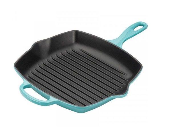 LE CREUSET - Grills - Grillpan 26cm Caribbean Blue